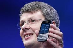 Il nuovo Blackberry 10 . REUTERS/Shannon Stapleton