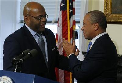 Massachusetts governor taps interim senator as campaig...