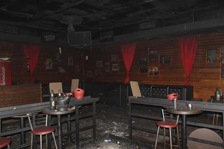 A view of the Boate Kiss nightclub is seen in the southern city of Santa Maria, 187 miles (301 km) west of the state capital Porto Alegre in this handout photo released by the Policia Civil (Civil Police) January 29, 2013. REUTERS/Policia