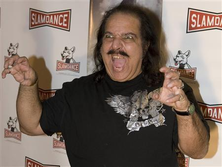 Actor Ron Jeremy attends the premiere of the movie ''Finding Bliss'' at the Slamdance Film Festival in Park City, Utah, in this January 18, 2009 file photo. Jeremy, one of the porn industry's biggest stars, was in intensive care and undergoing surgery for an aneurysm near his heart in Los Angeles, his manager said on Wednesday. REUTERS/Ramin Rahimian/Files