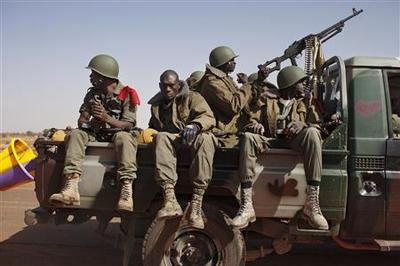 French troops deployed in last Mali rebel strongholds
