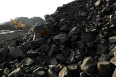 Краснобродский угольный разрез в Кемеровской области 23 июля 2012 года. Австралийская угольная компания Tigers Realm Coal ведет переговоры с двумя российскими инвестиционными фондами об инвестициях в проект в Сибири, сообщила компания в четверг. REUTERS/Sergei Karpukhin