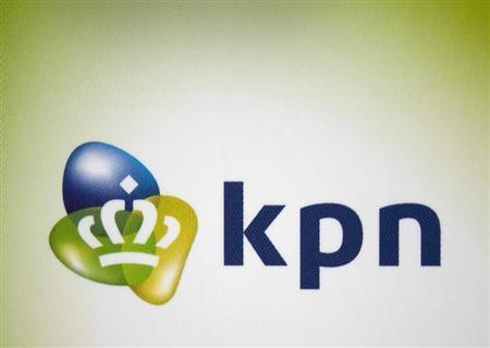 The logo of Dutch telecoms group KPN is seen in Haarlem May 31, 2012. REUTERS/Paul Vreeker/United Photos