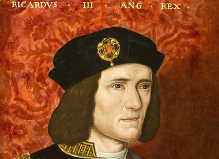 A painting of King Richard III by an unknown artist from the 16th Century is seen at the National Portrait Gallery in London in an August 24, 2012 file photo. REUTERS/Neil Hall/Files