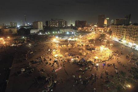 A general view of Tahrir Square in Cairo, January 30, 2013.