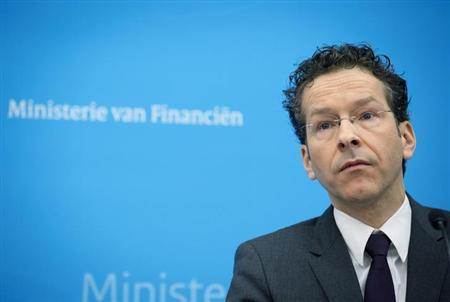 Dutch Finance Minister Jeroen Dijsselbloem speaks at a news conference in The Hague February 1, 2013