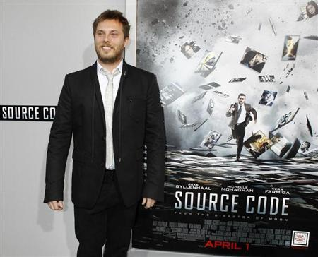 Director Duncan Jones poses at the premiere of his new film ''Source Code'' in Hollywood, California March 28, 2011. REUTERS/Fred Prouser