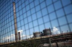 Lo stabilimento siderurgico Ilva di Taranto. REUTERS/Yara Nardi