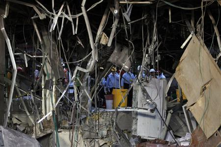 Mexico probes if blast was attack or accident, 33 dead
