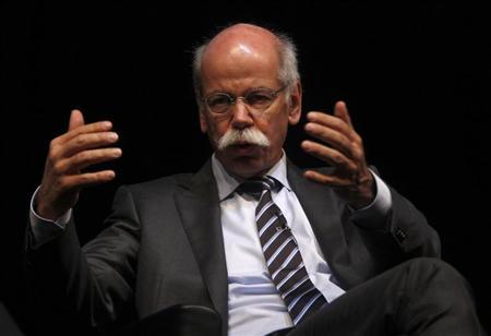 Daimler AG Chief Executive Dieter Zetsche attends the 'International CAR Symposium' in Bochum January 29, 2013. REUTERS/Ina Fassbender