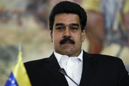 Venezuela's Foreign Minister Nicolas Maduro attends a news conference in Caracas May 2, 2012. REUTERS/Jorge Silva