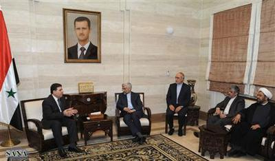 Syrian opposition talks with Russia and Iran