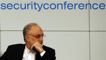 Iranian Foreign Minister Ali Akbar Salehi arrives at the 49th Conference on Security Policy in Munich February 3, 2013. REUTERS/Michael Dalder