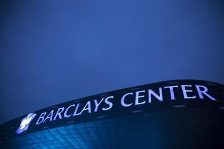 An exterior view of the Barclays Center is seen in Brooklyn, New York October 24, 2012. REUTERS/Andrew Kelly/Files