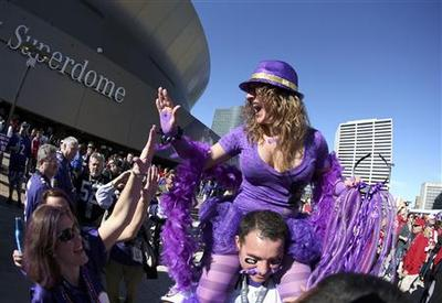 New Orleans in party mode in lead up to Super Bowl