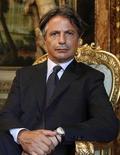 L'ex numero uno di Mps e Abi Giuseppe Mussari. REUTERS/Tony Gentile