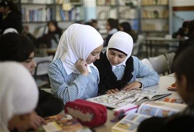 Schoolbooks ingrain Israeli-Palestinian enmity:...
