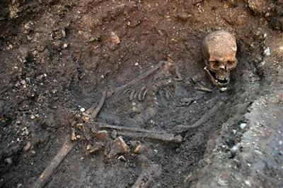 England's King Richard III found after 500 years