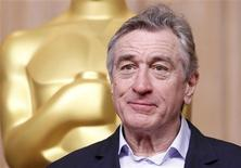 "Actor Robert De Niro, nominated for best supporting actor for his role in ""Silver Linings Playbook"", attends the 85th Academy Awards nominees luncheon in Beverly Hills, California February 4, 2013. REUTERS/Mario Anzuoni"