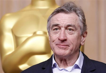 Actor Robert De Niro, nominated for best supporting actor for his role in ''Silver Linings Playbook'', attends the 85th Academy Awards nominees luncheon in Beverly Hills, California February 4, 2013. REUTERS/Mario Anzuoni