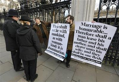 Conservatives split as first gay marriage vote passes