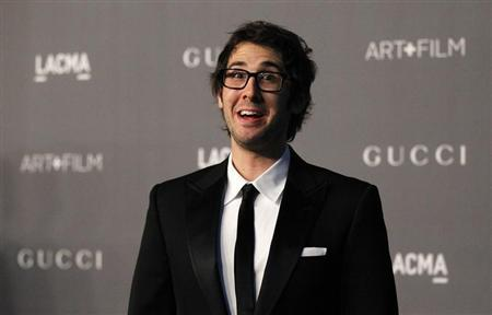 Singer Josh Groban poses at the Los Angeles County Museum of Art (LACMA) 2012 Art + Film Gala in Los Angeles, California October 27, 2012. REUTERS/Mario Anzuoni