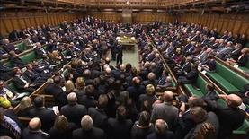 A video grab image shows MPs voting on gay marriage legislation, in the House of Commons, London February 5, 2013. REUTERS/UK Parliament