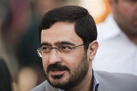 Tehran Prosecutor General Saeed Mortazavi attends an execution by hanging in Tehran in this August 2, 2007 file photo. REUTERS/Morteza Nikoubazl