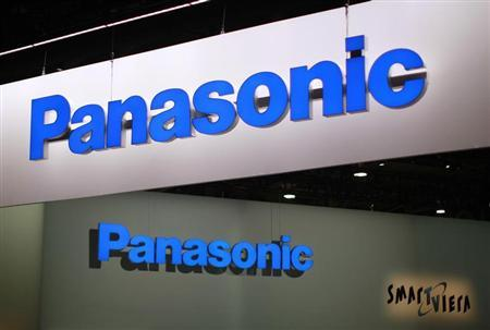 Signs hang above the Panasonic booth on the second day of the Consumer Electronics Show (CES) in Las Vegas January 9, 2013. REUTERS/Rick Wilking