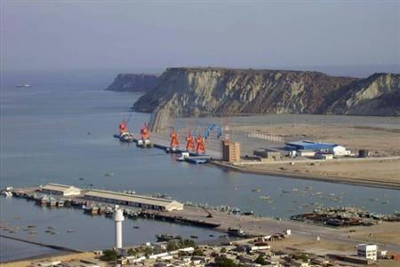 A general view of Pakistan's Gwadar deep-sea port on the Arabian Sea March 19, 2007. REUTERS/Qadir Baloch/Files