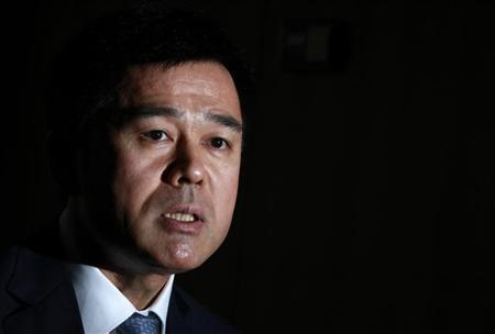 Bank of Japan's Takehiro Sato speaks during an interview with Reuters at the central bank in Tokyo September 26, 2012. REUTERS/Yuriko Nakao