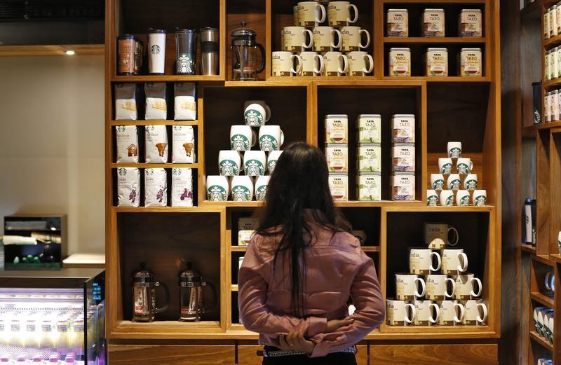 Starbucks in Delhi