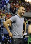 Le Bayern Munich de Pep Guardiola disputera en juillet un match de bienfaisance contre le FC Barcelone, ancienne équipe de l'entraîneur espagnol. /Photo d'archives/REUTERS/Gustau Nacarino