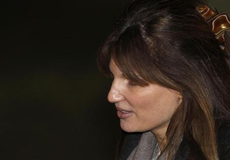Britain's Jemima Khan, a supporter of Wikileaks founder Julian Assange, leaves Belmarsh Magistrates Court in east London, February 8, 2011. REUTERS/Andrew Winning