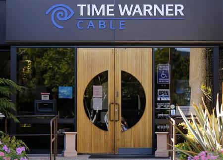The Time Warner Cable office is shown in Carlsbad, California in this November 5, 2012 file photograph. Time Warner Inc posted higher fourth-quarter profit that beat Wall Street estimates on February 6, 2013, as growth in its cable networks offset declines in the film, TV entertainment and publishing units, sending shares up 5 percent. REUTERS/Mike Blake/Files