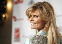 "Mariel Hemingway poses at the Virgin Unite's ""Rock The Kasbah"" benefit reception in Hollywood, California July 2, 2007. REUTERS/Mario Anzuoni"