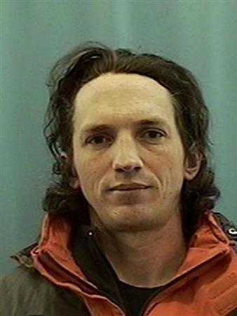 Confessed serial killer Israel Keyes is seen in this undated booking photo released to Reuters by the U.S. Attorney's Office in Alaska December 3, 2012. REUTERS/USDOJ/Handout