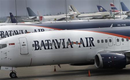 Batavia planes are seen parked at Sukarno Hatta airport January 31, 2013. REUTERS/Supri