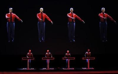 Kraftwerk mixes art with music in sell-out shows