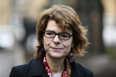Vicky Pryce, the ex-wife of Britain's former energy secretary Chris Huhne, arrives at Southwark Crown Court in London February 7, 2013. REUTERS/Stefan Wermuth