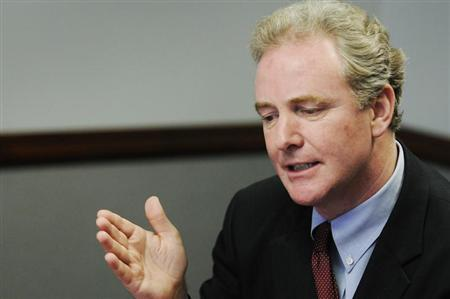 U.S. Representative Chris Van Hollen (D-MD), ranking Democrat on the House Budget Committee, takes questions during the Reuters Washington Summit in Washington, June 26, 2012. REUTERS/Jonathan Ernst