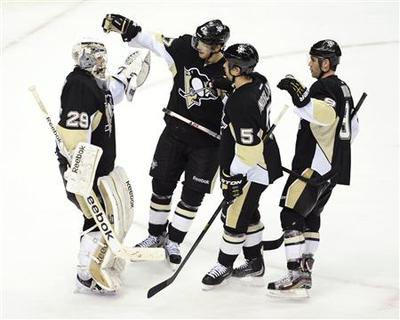 Capitals unable to halt march of the Penguins