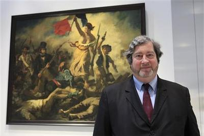 Symbol of French Republic defaced in art attack