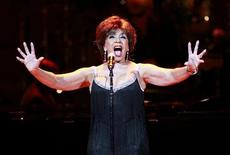 Dame Shirley Bassey performs during the 21st birthday celebration of the Rainforest Fund at Carnegie Hall in New York May 13, 2010. REUTERS/Lucas Jackson