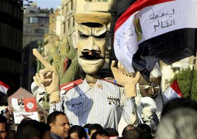 Egyptian protesters clash with police after days of...