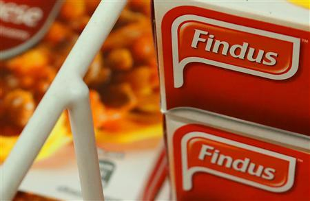 Findus products are display in a store in Edinburgh, Scotland February 8, 2013. REUTERS/David Moir