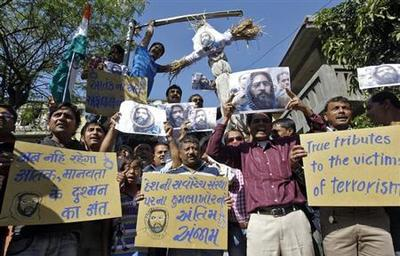 Protests erupt as Afzal Guru executed for 2001 parliam...