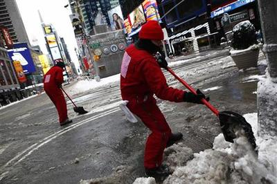Northeast digs out from blizzard; new storm brews in...