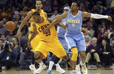 Nuggets beat Cavaliers for ninth successive win