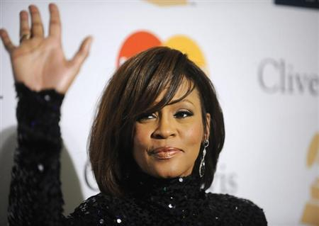 Whitney Houston attends the Pre-Grammy Gala & Salute to Industry Icons with Clive Davis in Beverly Hills, California, February 12, 2011. REUTERS/Phil McCarten